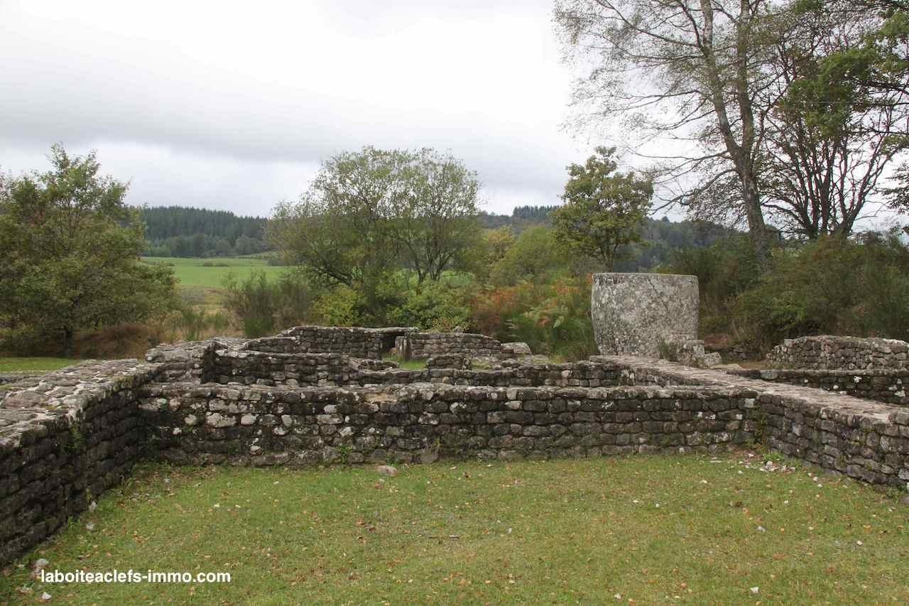 ruines gallo romaines des cars